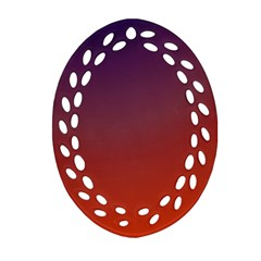 Course Colorful Pattern Abstract Ornament (oval Filigree) by Nexatart