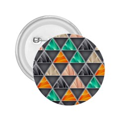 Abstract Geometric Triangle Shape 2.25  Buttons