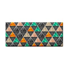 Abstract Geometric Triangle Shape Cosmetic Storage Cases