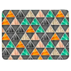 Abstract Geometric Triangle Shape Samsung Galaxy Tab 7  P1000 Flip Case