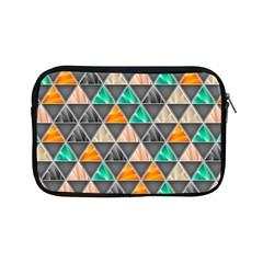 Abstract Geometric Triangle Shape Apple Ipad Mini Zipper Cases by Nexatart