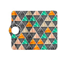 Abstract Geometric Triangle Shape Kindle Fire Hdx 8 9  Flip 360 Case
