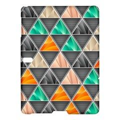 Abstract Geometric Triangle Shape Samsung Galaxy Tab S (10 5 ) Hardshell Case  by Nexatart