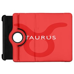 Zodizc Taurus Red Kindle Fire Hd 7  by Mariart