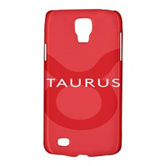 Zodizc Taurus Red Galaxy S4 Active by Mariart