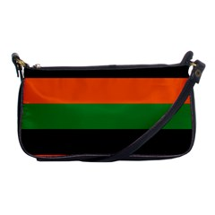 Color Green Orange Black Shoulder Clutch Bags by Mariart