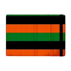 Color Green Orange Black Ipad Mini 2 Flip Cases by Mariart