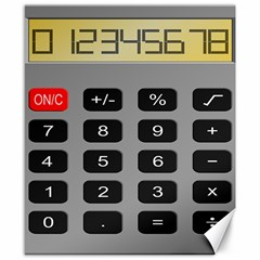 Calculator Canvas 8  X 10  by Mariart