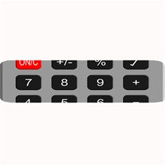 Calculator Large Bar Mats by Mariart
