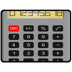 Calculator Fleece Blanket (large)  by Mariart