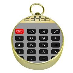 Calculator Gold Compasses by Mariart