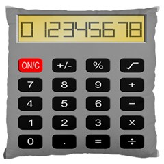 Calculator Standard Flano Cushion Case (one Side) by Mariart