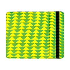 Arrow Triangle Green Yellow Samsung Galaxy Tab Pro 8 4  Flip Case by Mariart
