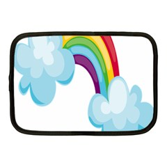 Could Rainbow Red Yellow Green Blue Purple Netbook Case (medium)  by Mariart