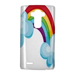 Could Rainbow Red Yellow Green Blue Purple Lg G4 Hardshell Case by Mariart