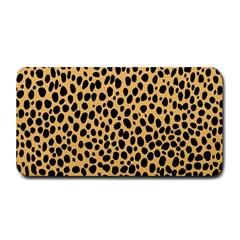 Cheetah Skin Spor Polka Dot Brown Black Dalmantion Medium Bar Mats by Mariart
