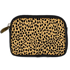 Cheetah Skin Spor Polka Dot Brown Black Dalmantion Digital Camera Cases by Mariart