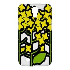 Flower Floral Sakura Yellow Green Leaf Samsung Galaxy Mega 6 3  I9200 Hardshell Case by Mariart