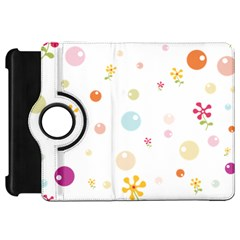 Flower Floral Star Balloon Bubble Kindle Fire Hd 7  by Mariart