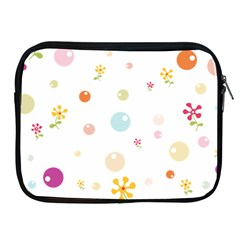 Flower Floral Star Balloon Bubble Apple Ipad 2/3/4 Zipper Cases by Mariart