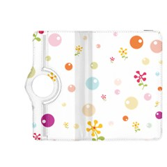 Flower Floral Star Balloon Bubble Kindle Fire Hdx 8 9  Flip 360 Case by Mariart