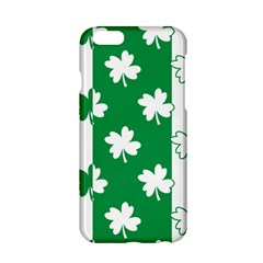 Flower Green Shamrock White Apple Iphone 6/6s Hardshell Case by Mariart