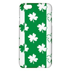 Flower Green Shamrock White Iphone 6 Plus/6s Plus Tpu Case by Mariart