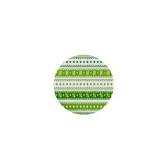 Flower Floral Green Shamrock 1  Mini Buttons by Mariart