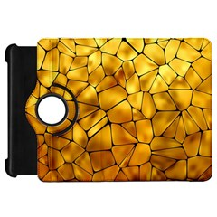 Gold Kindle Fire Hd 7  by Mariart