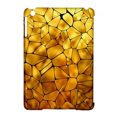 Gold Apple Ipad Mini Hardshell Case (compatible With Smart Cover) by Mariart