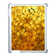 Gold Apple Ipad 3/4 Case (white) by Mariart