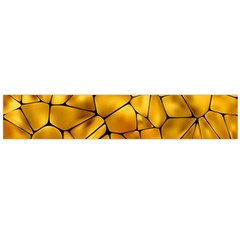 Gold Flano Scarf (large) by Mariart