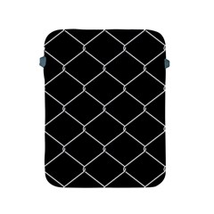 Iron Wire White Black Apple Ipad 2/3/4 Protective Soft Cases by Mariart