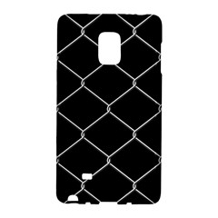 Iron Wire White Black Galaxy Note Edge by Mariart