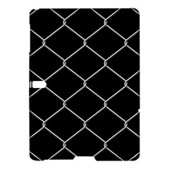 Iron Wire White Black Samsung Galaxy Tab S (10 5 ) Hardshell Case  by Mariart