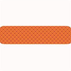 Heart Orange Love Large Bar Mats by Mariart