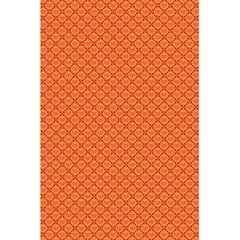 Heart Orange Love 5 5  X 8 5  Notebooks by Mariart