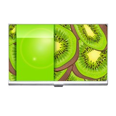 Fruit Slice Kiwi Green Business Card Holders by Mariart