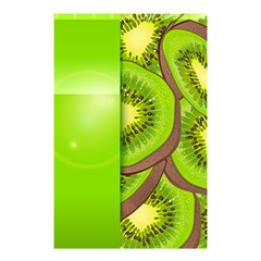 Fruit Slice Kiwi Green Shower Curtain 48  X 72  (small)  by Mariart