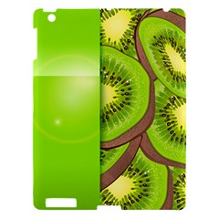 Fruit Slice Kiwi Green Apple Ipad 3/4 Hardshell Case by Mariart