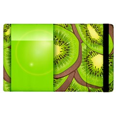 Fruit Slice Kiwi Green Apple Ipad 3/4 Flip Case by Mariart