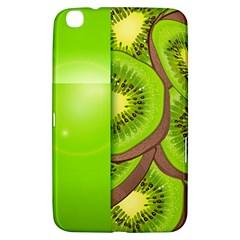Fruit Slice Kiwi Green Samsung Galaxy Tab 3 (8 ) T3100 Hardshell Case  by Mariart