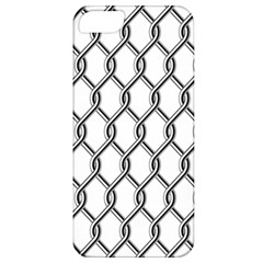 Iron Wire Black White Apple Iphone 5 Classic Hardshell Case by Mariart