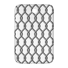 Iron Wire Black White Samsung Galaxy Note 8 0 N5100 Hardshell Case  by Mariart