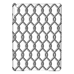 Iron Wire Black White Ipad Air Hardshell Cases by Mariart