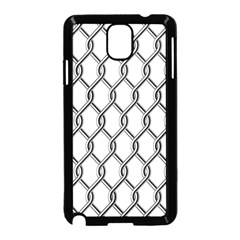 Iron Wire Black White Samsung Galaxy Note 3 Neo Hardshell Case (black) by Mariart