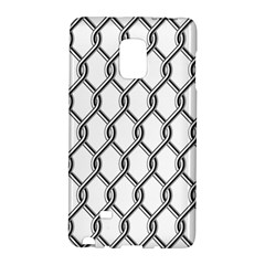 Iron Wire Black White Galaxy Note Edge by Mariart