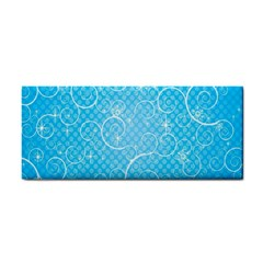 Leaf Blue Snow Circle Polka Star Cosmetic Storage Cases by Mariart