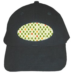 Merry Christmas Polka Dot Circle Snow Tree Green Orange Red Gray Black Cap by Mariart