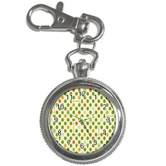 Merry Christmas Polka Dot Circle Snow Tree Green Orange Red Gray Key Chain Watches by Mariart